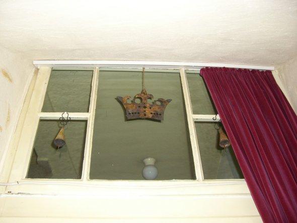 Das freigelegte Oberlicht für mehr Licht und einen königlichen Empfang;-)