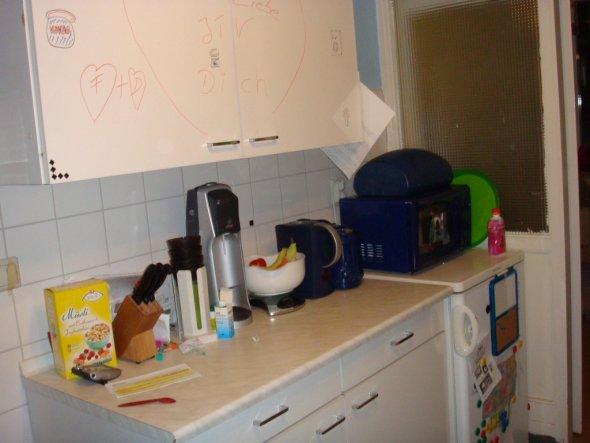 Das ist die andere Seite von der Küche