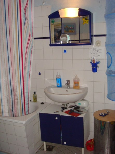 Man erkennt... ein Waschbecken