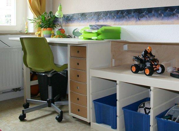 Kinderzimmer 39 kinderzimmer 1 39 lebe bunt und laut o - Wandfarbe elfenbein ...