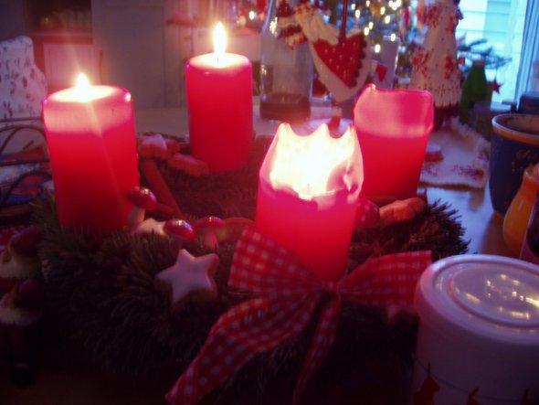 Weihnachtsdeko 'Weihnachten 2008'