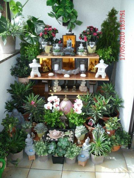 Chestha.com | Mini Design Garten Miniaturgarten Pflanzkubel Balkon