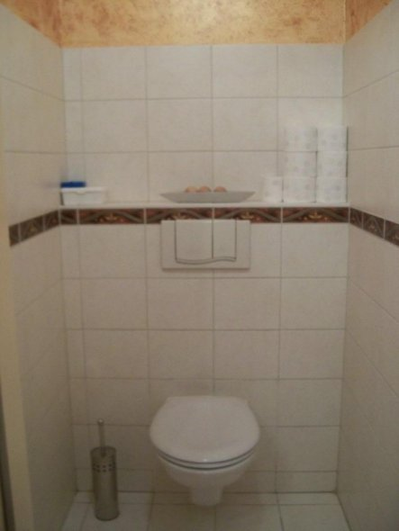 Bad 'WC im Obergeschoss'