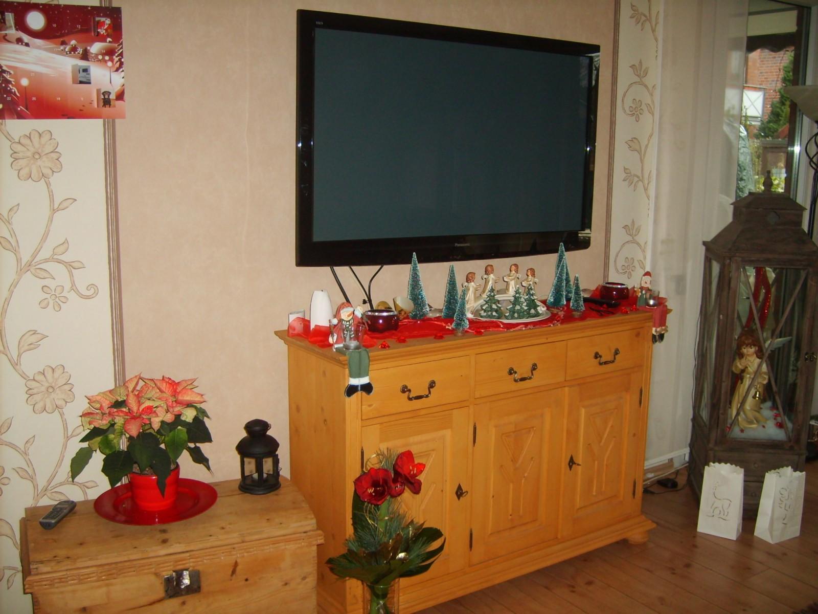 weihnachtsdeko 'mein wohnzimmer' - unsere wohlfühloase - zimmerschau