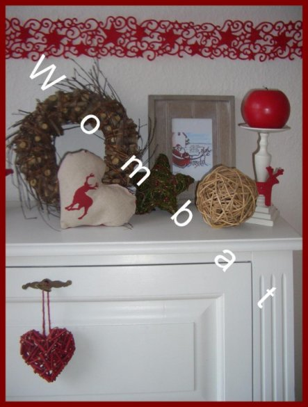 Weihnachtsdeko 'Wohnzimmer weihnachtlich'