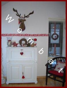 Wohnzimmer weihnachtlich