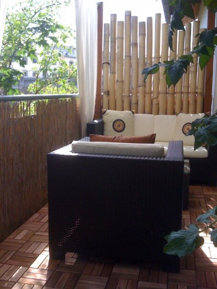 terrasse balkon 39 chillout lounge 39 mein domizil. Black Bedroom Furniture Sets. Home Design Ideas