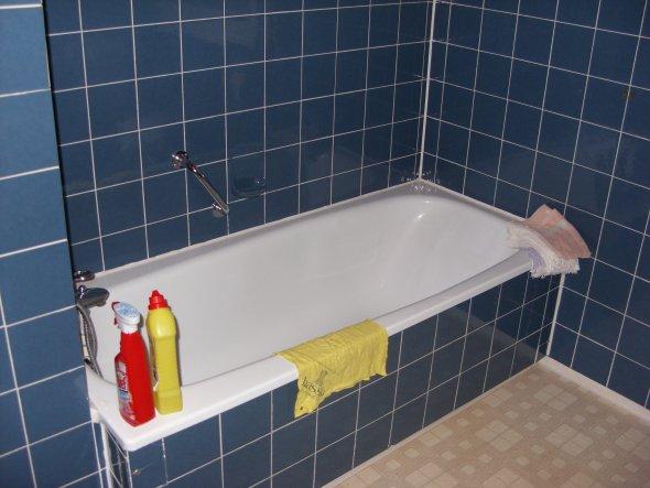 das Bad vorher