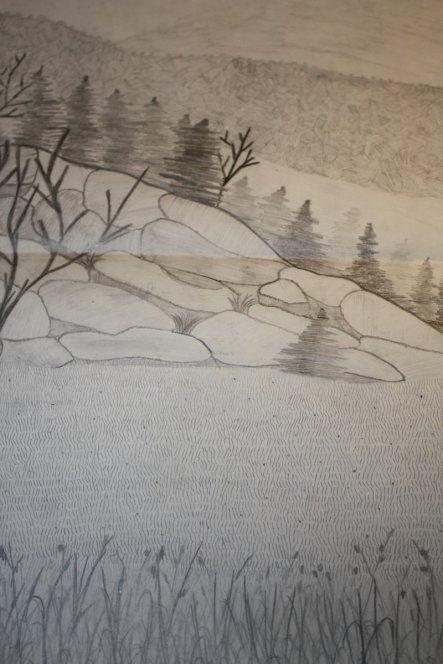 Schulaufgabe im Kunstunterricht