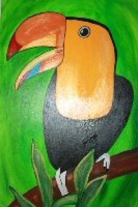 Acrylmalerei 50x70 cm