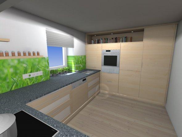 Küche hab ich monatelang geplant,...