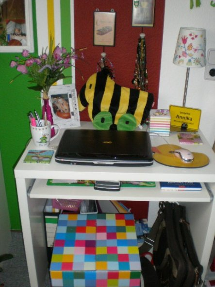 Arbeitszimmer / Büro 'Schreibtisch'