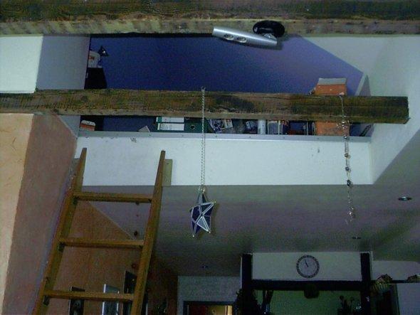 Früher altes Schlafzimmer,jetzt  als Lagerraum,in Zukunft wohl Umbau zum Kinderzimmer.