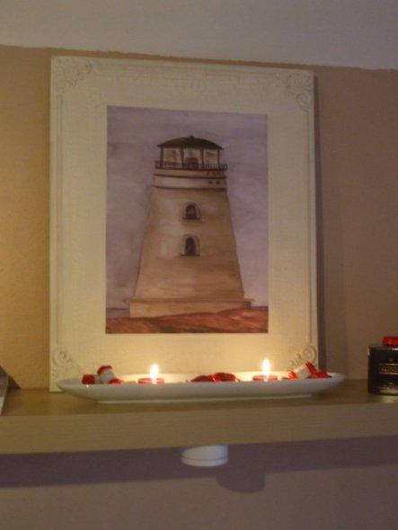 Mein Mann(ehem. Nordlicht) wünschte sich schon lange einen Leuchtturm. Jetzt hab ich endlich einen gefunden, der auch mir gefällt