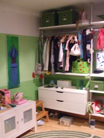 Kinderzimmer 'Jugendzimmer grün'