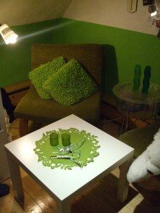 Jugendzimmer grün