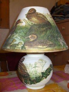 Tipp & Trick 'Lampe mit Serviettentechnik, die Zweite'