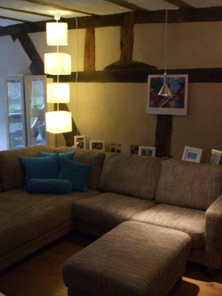 wohnzimmer 39 wohnzimmer neu 39 landhaus zimmerschau. Black Bedroom Furniture Sets. Home Design Ideas