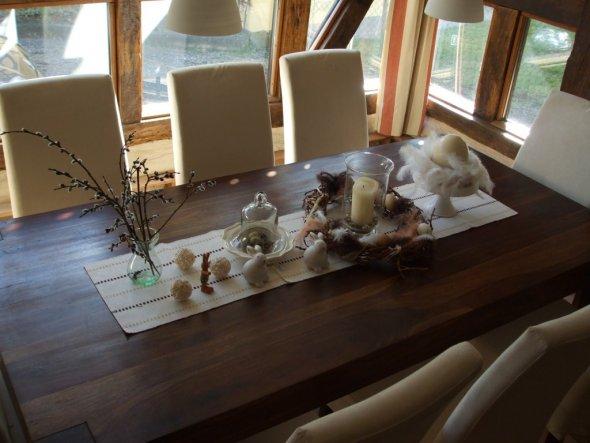 Tischdeko esszimmer  Esszimmer 'Speisezimmer' - Landhaus - Zimmerschau