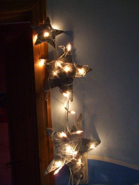 tipp von tanuhaus leuchtsterne selbstgemacht zimmerschau. Black Bedroom Furniture Sets. Home Design Ideas
