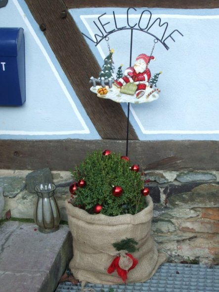 Weihnachtsdeko Landhaus Von Tanuhaus 7444 Zimmerschau