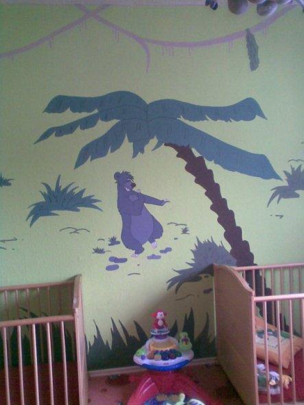 Kinderzimmer Dschungelbuch  Mein Domizil  Zimmerschau