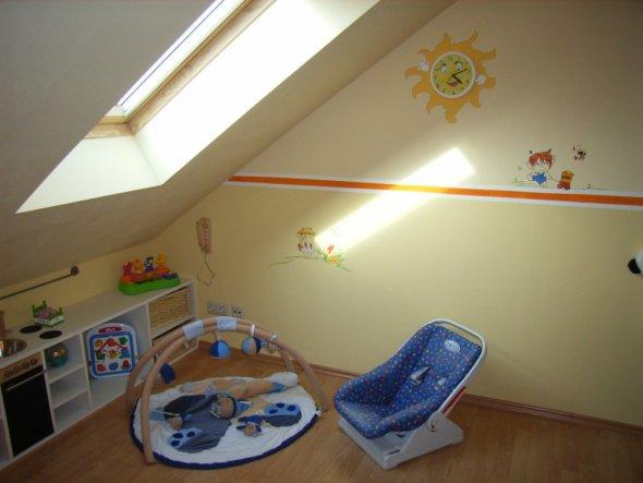 Babyzimmer Mit Dachschräge kinderzimmer babyzimmer unser traumhaus zimmerschau