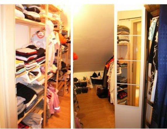 Wohnzimmer 'begehbarer Schrank'