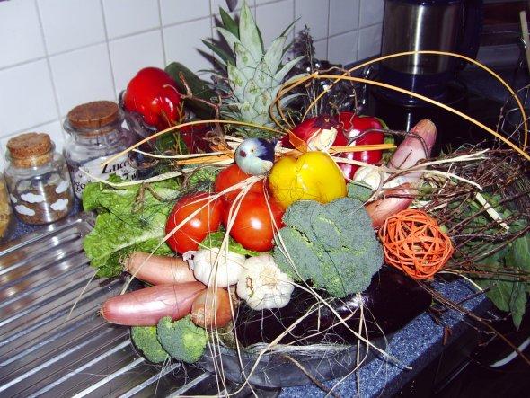 Gemüse zum Geburtstag