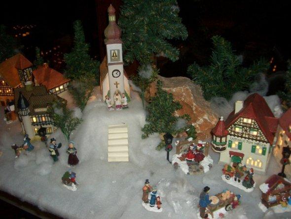 Weihnachtsdeko 'Weihnachtsdorf'