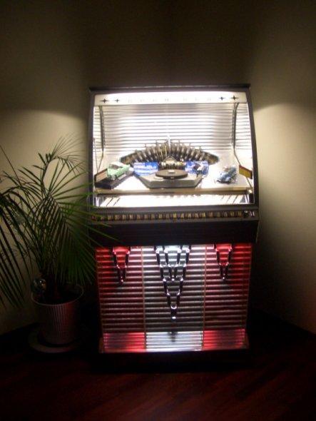 Hobbyraum 'Musikbox von 1955'