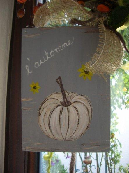 Deko 'Herbstdeko  Ast'