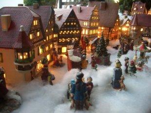 Weihnachtsdeko 39 weihnachtsdorf 39 unser reich zimmerschau for Weihnachtsdeko terrasse