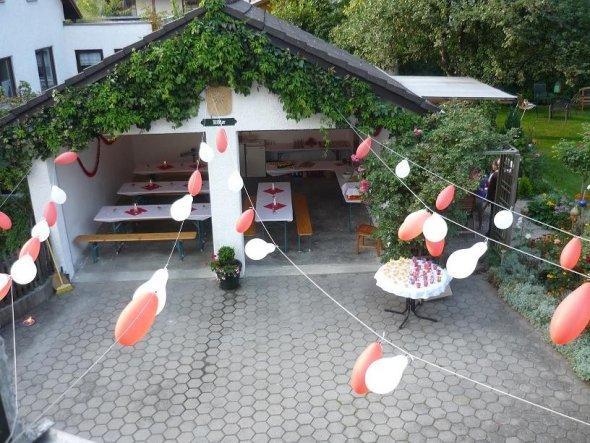 Polterabend Dekorationen Haus Deko