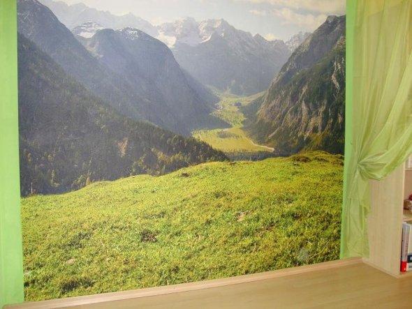 Arbeitszimmer / Büro 'daheim in den Alpen'