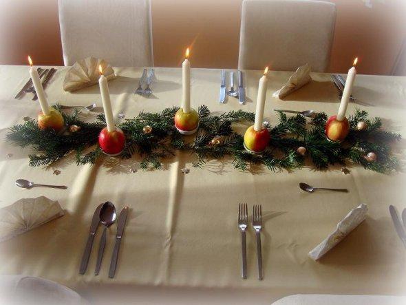 Weihnachtsdeko 'Weihnachtstisch'