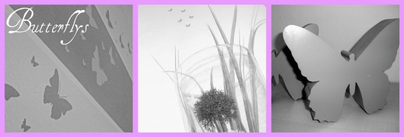 Flur/Diele 'unser Schmetterlingszauberflur'
