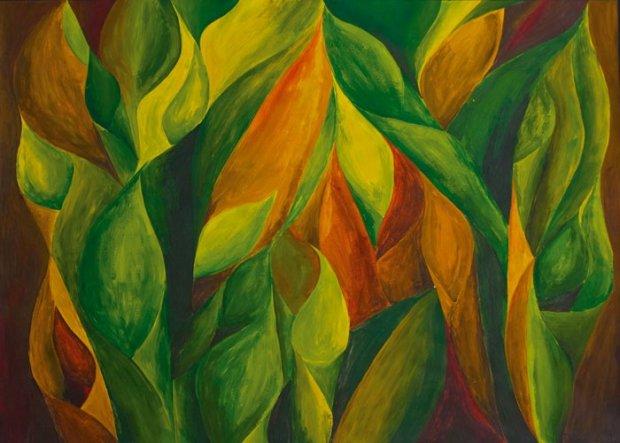 Lieblingsbild das Zweite: Farbstudie zum Thema Herbstanfang. Ich kann da stundenlang draufstarren und in den Farben versinken. Schade, dass ich seiner