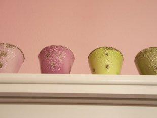 Meine kleine rosa Küche