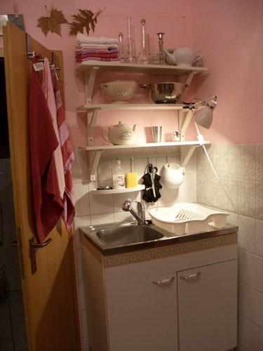 k che 39 meine kleine rosa k che 39 mein buntes nest zimmerschau. Black Bedroom Furniture Sets. Home Design Ideas