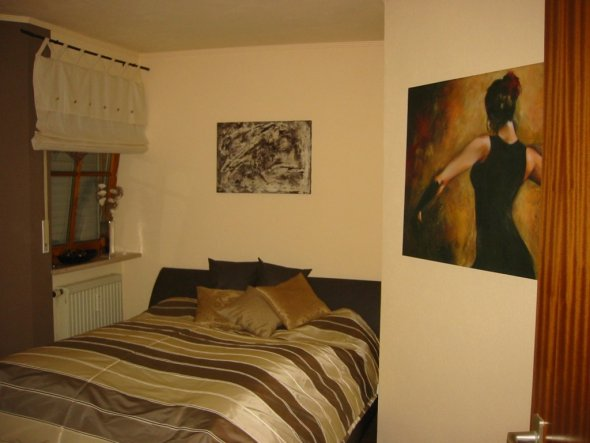 Wohnzimmer 'Vorher/Nachher' - Mein altes Schlafzimmer - Zimmerschau