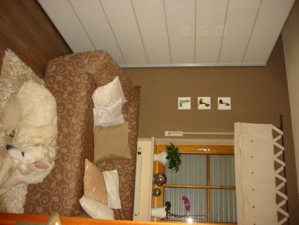 wohnzimmer 'vorher/nachher' - mein altes schlafzimmer - zimmerschau, Wohnzimmer