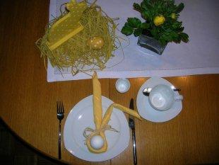 Tipp & Trick 'Oster-Serviette'