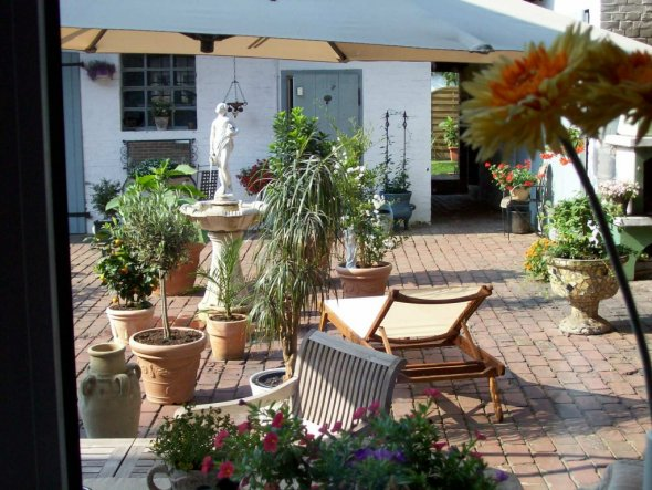 Terrasse / Balkon 'Innenhof'
