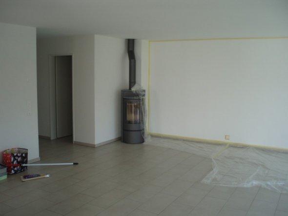 offenes wohnzimmer küche:grosses offenes wohnzimmer mit offener küche und essbereich