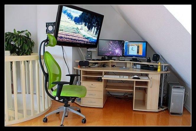 Arbeitszimmer / Büro 'Arbeitsecke'
