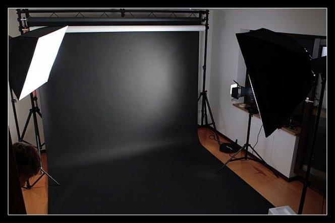 Arbeitszimmer / Büro 'Fotostudio'