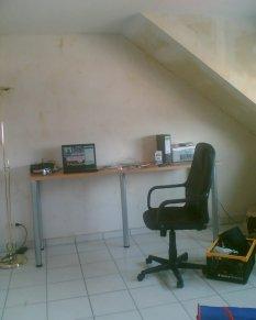 arbeitszimmer b ro 39 flur 39 unsere gemeinsame wohnung zimmerschau. Black Bedroom Furniture Sets. Home Design Ideas