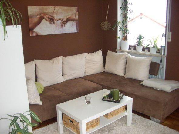 Design : wohnzimmer braun weiß ~ Inspirierende Bilder von ...