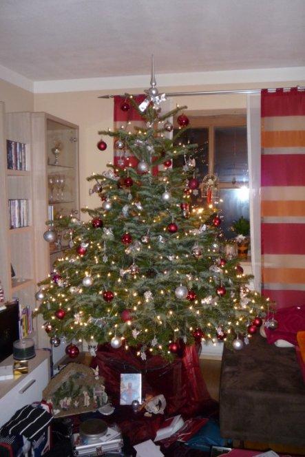 Weihnachtsbaum Engelshaar.Weihnachtsdeko Unser Reich Von Toma 7965 Zimmerschau